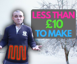 Make Your Own Heated Shirt Powered by USB for Less Than £10
