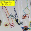DIY Character Necklaces - Disney: Finding Dory, Doc McStuffins & More!