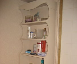 MDF Bathroom cupboard