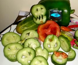 Halloween OLED Eye Salad