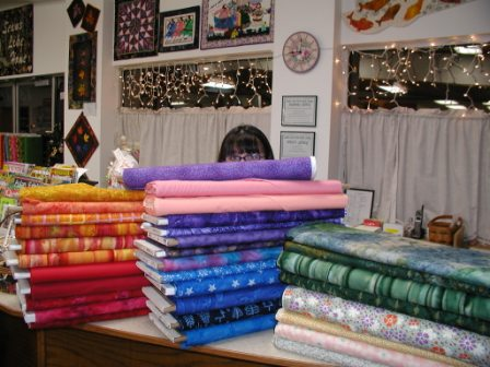 Picture of Fabrics, Needles, Threads and More