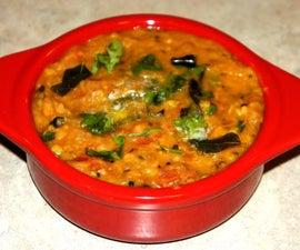 Indian Lentil Fry / Daal Fry