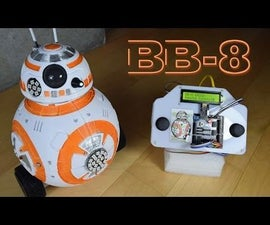 BB-8 Droid, 3D Printed & Remote Controlled