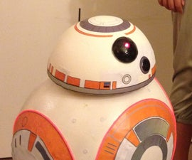 Star Wars BB-8 Halloween Prop