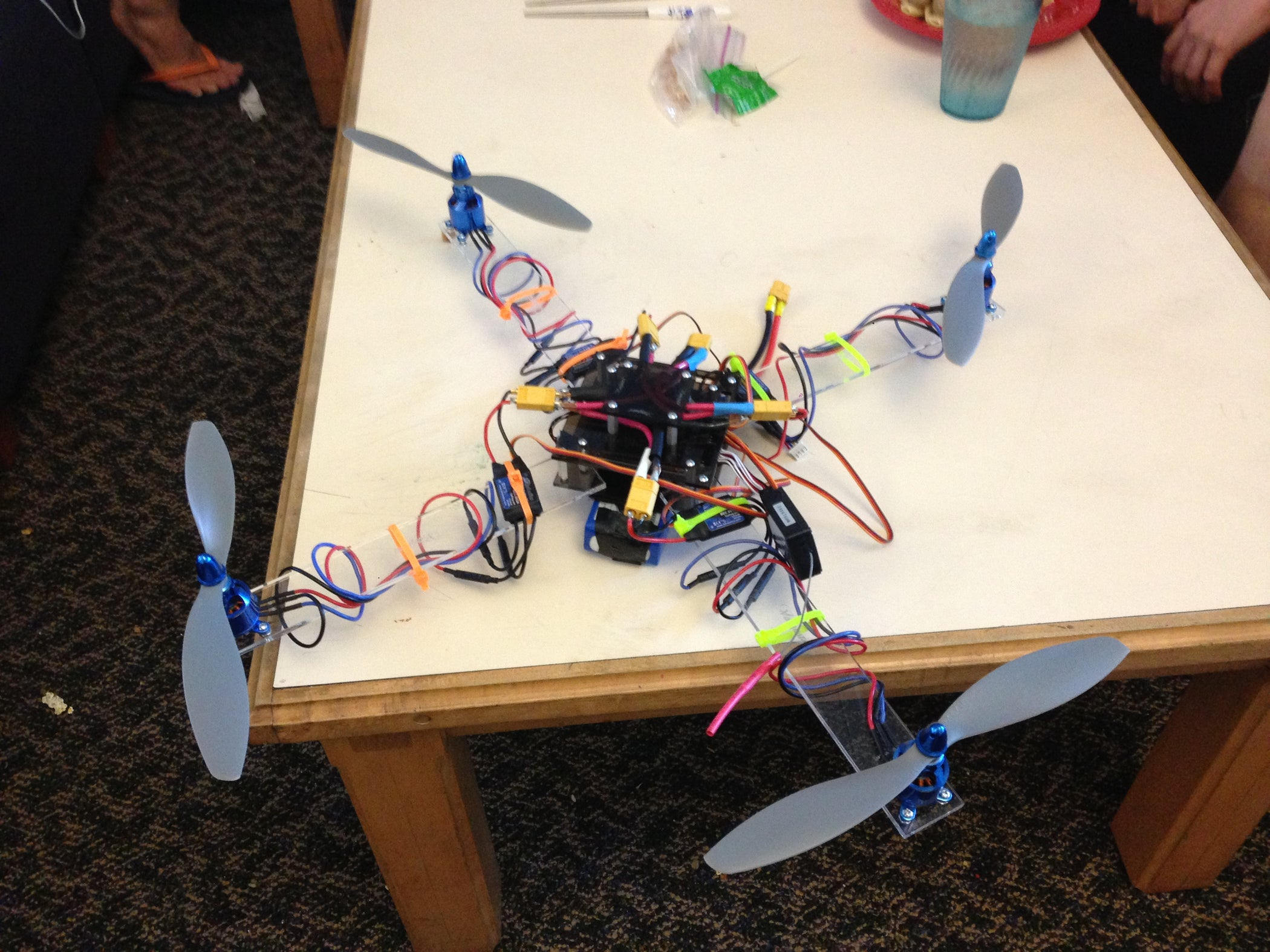 Scratch Build Your Own Quad-copter!