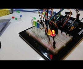 LED Ping Pong With Shift Register