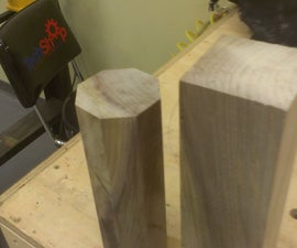 Easiest way to make octagons for wood turning. NO MATH OR MARKING! YAYY!