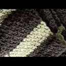 Video: Crochet Seed Stitch Scarf Pattern/Video