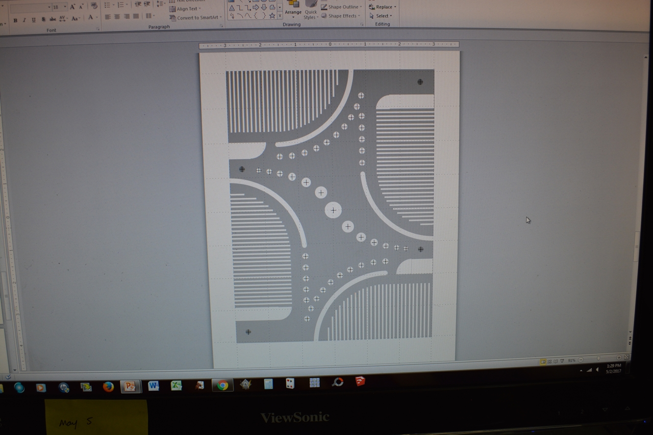 Picture of Design and Cut Your Shade Pattern