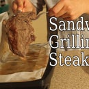 Bachelor Pad Cooking Show - Sandwich Grilling Steak (Episode 1)