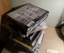 Vinyl Record CD Shelf