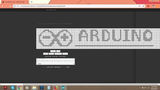 POV Demo #2 - Arduino Program Code