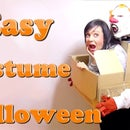 A monster carrying you. The best costume DIY last minute #Halloween