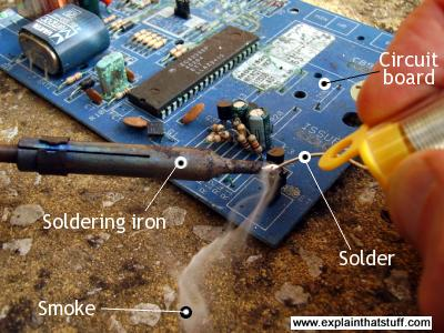 Picture of Soldering the Component