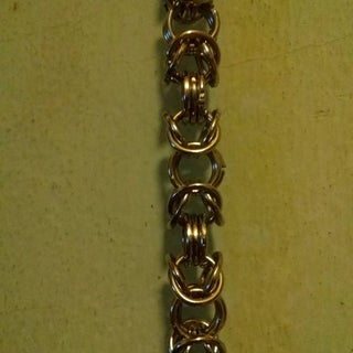 Dragon Tail - Chainmail Wallet/key Chain
