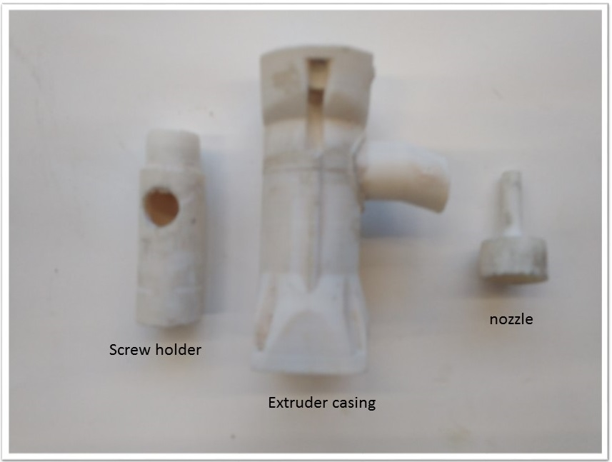 Picture of Extruder Assembly