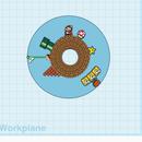 Mario World Fidget Spinner