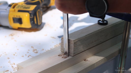 Carving the Joinery