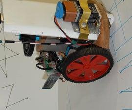 Trash Built BT Line Drawing Bot - My Bot