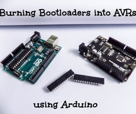 Burning Bootloaders Into AVRs Using Arduino