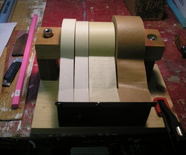 How to Make an Easy to use Tape Dispenser