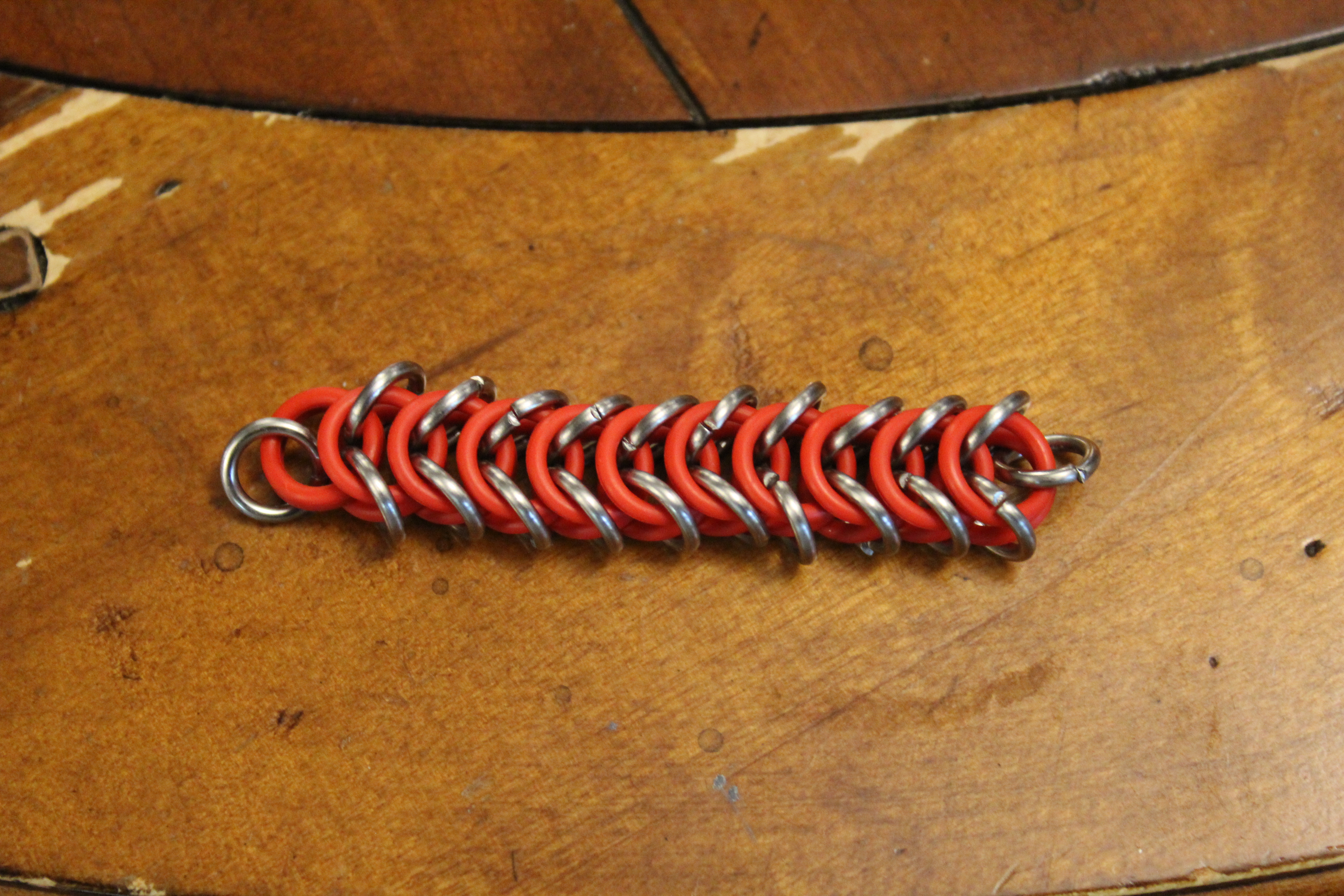 Picture of Chainmail and O-ring Keychain