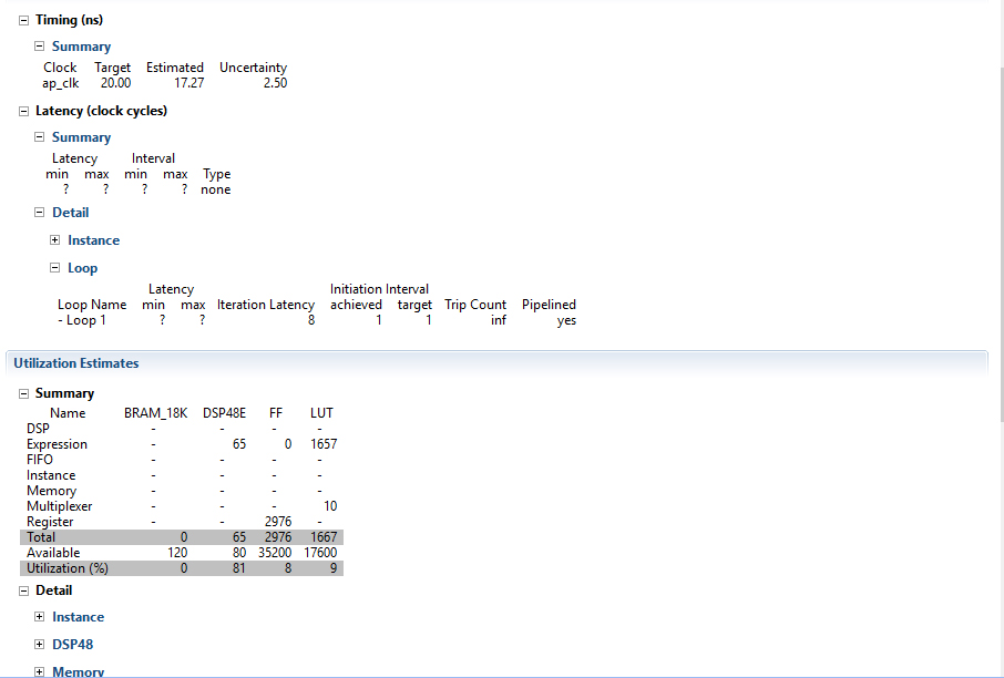 Picture of Using the Filters From HLS And/or the FIR Compiler