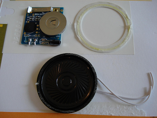 Picture of Remove Speaker From Card
