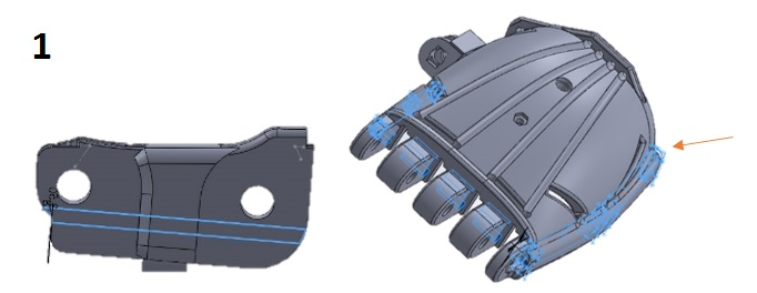 Picture of Assemble the Hand