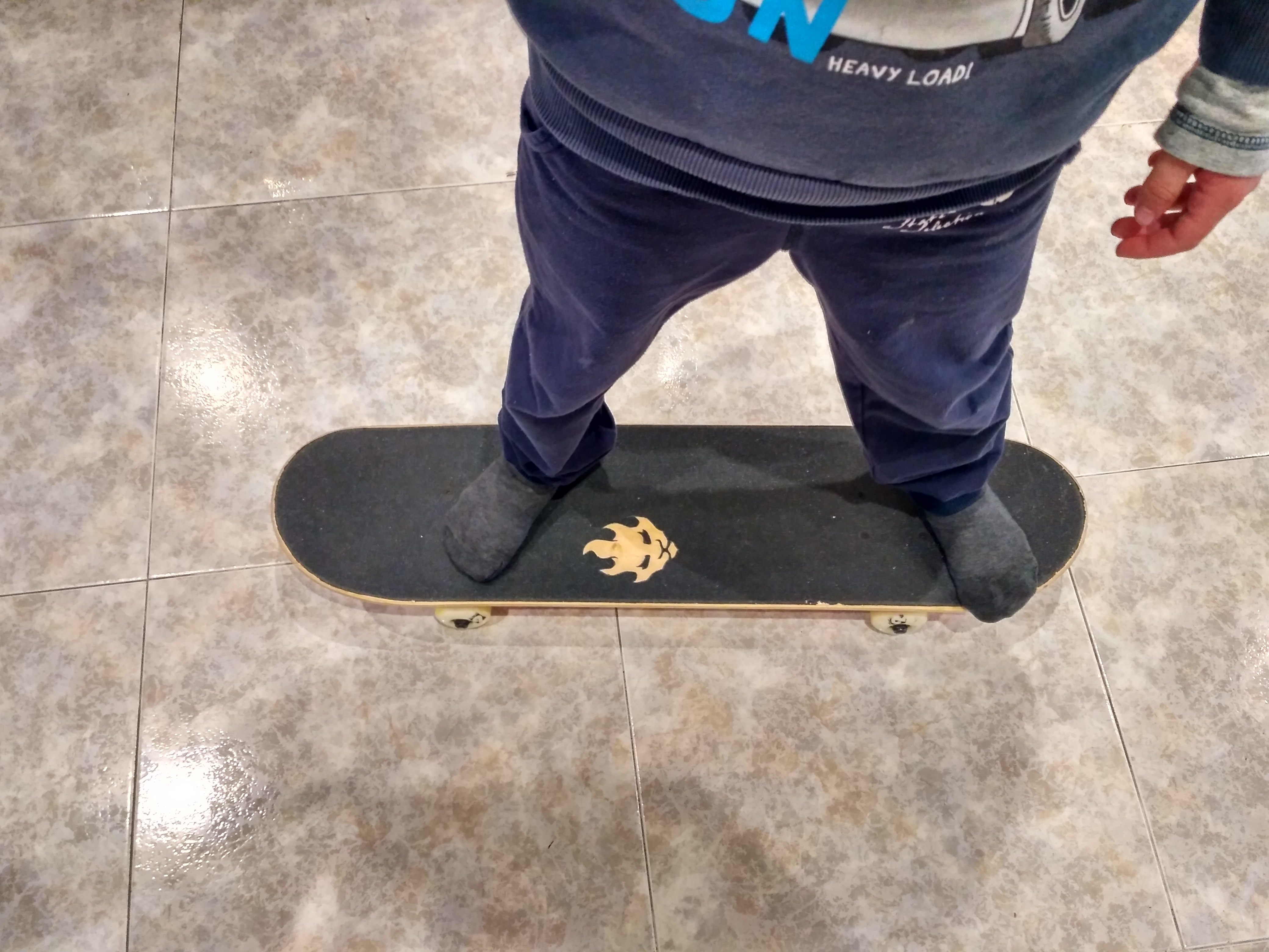 Picture of DIY Custom Grip Tape Already on a Skateboard!
