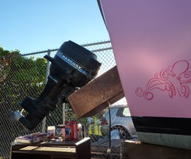 How to Mount an Outboard Motor to a Boat