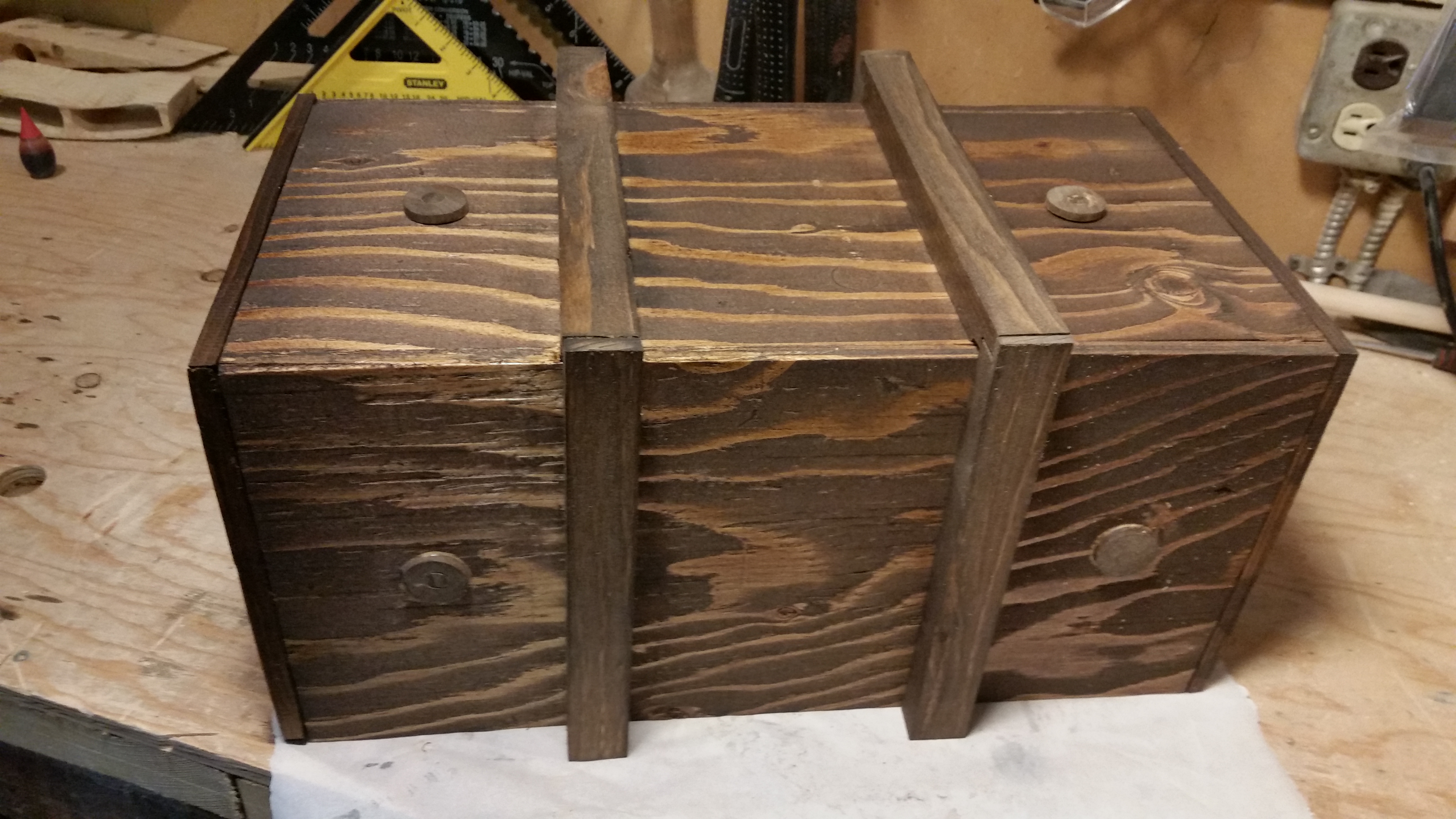 Picture of Locking Box With 2 Drawers