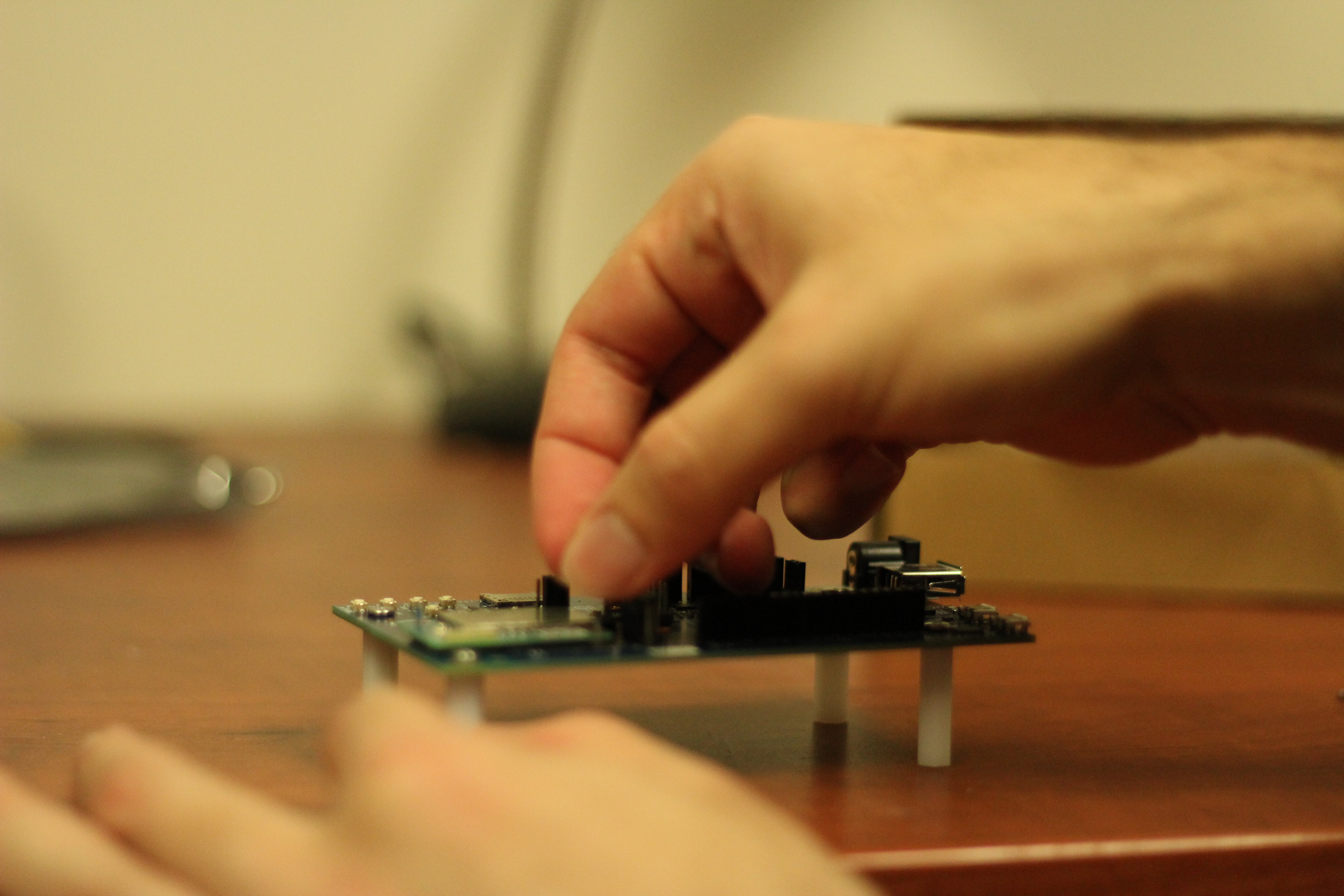 Picture of Setting Up the Edison Chip