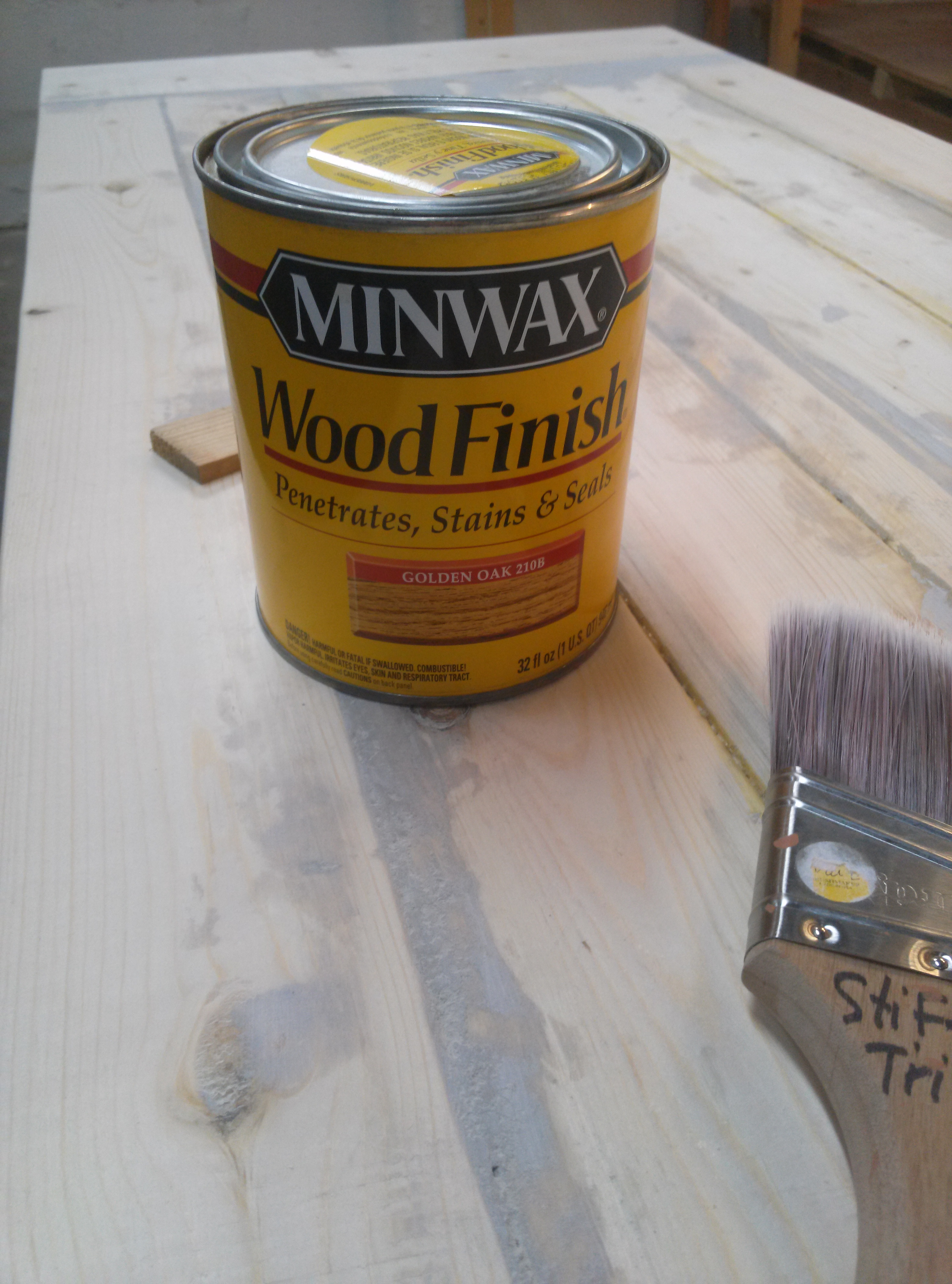 Picture of Apply a Wood FInish
