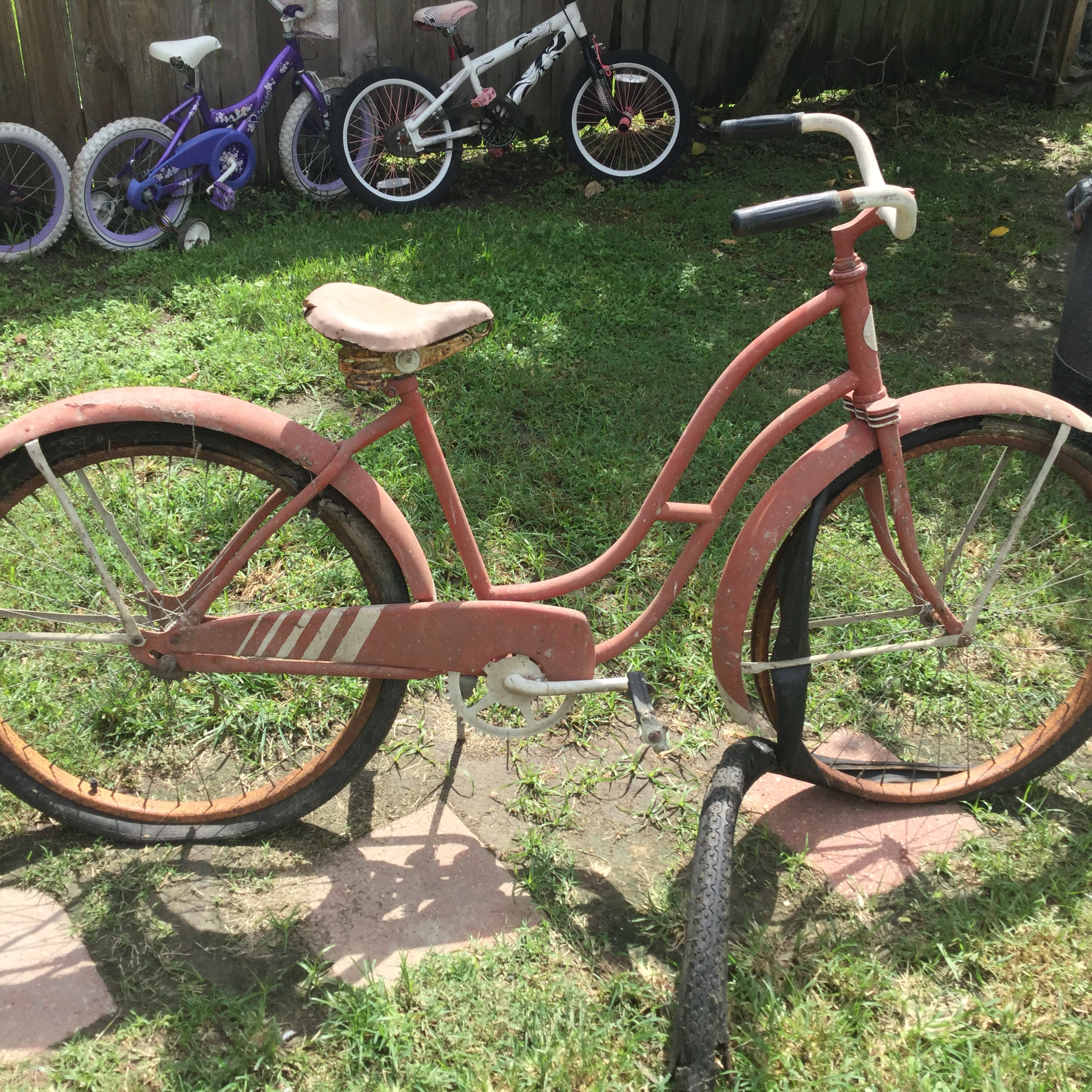 Picture of Acquired a 1950's Bike