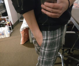 How to Put a Pocket in Your Pajama Pants