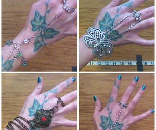 Slave Bracelet From Unused Jewelry