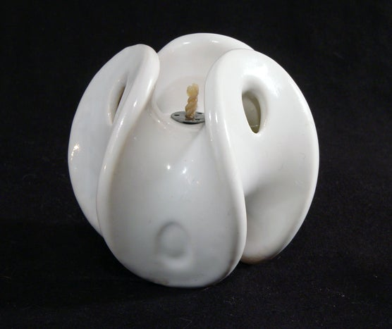 3d Printed Ceramic Oil Lamp 5 Steps With Pictures