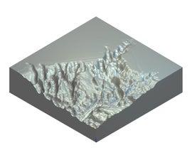 3D CNC Relief Sculpture - ArtCAM