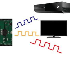 Arduino XboxOne, TV, and Fan Remote Control