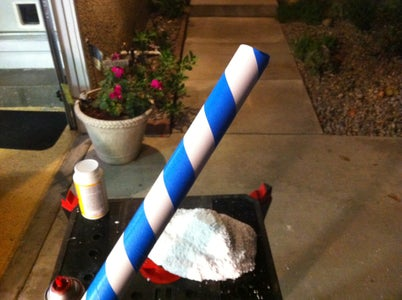 Making the Candy Cane