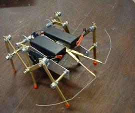 Lobsterbot - a simple LM386 based robot