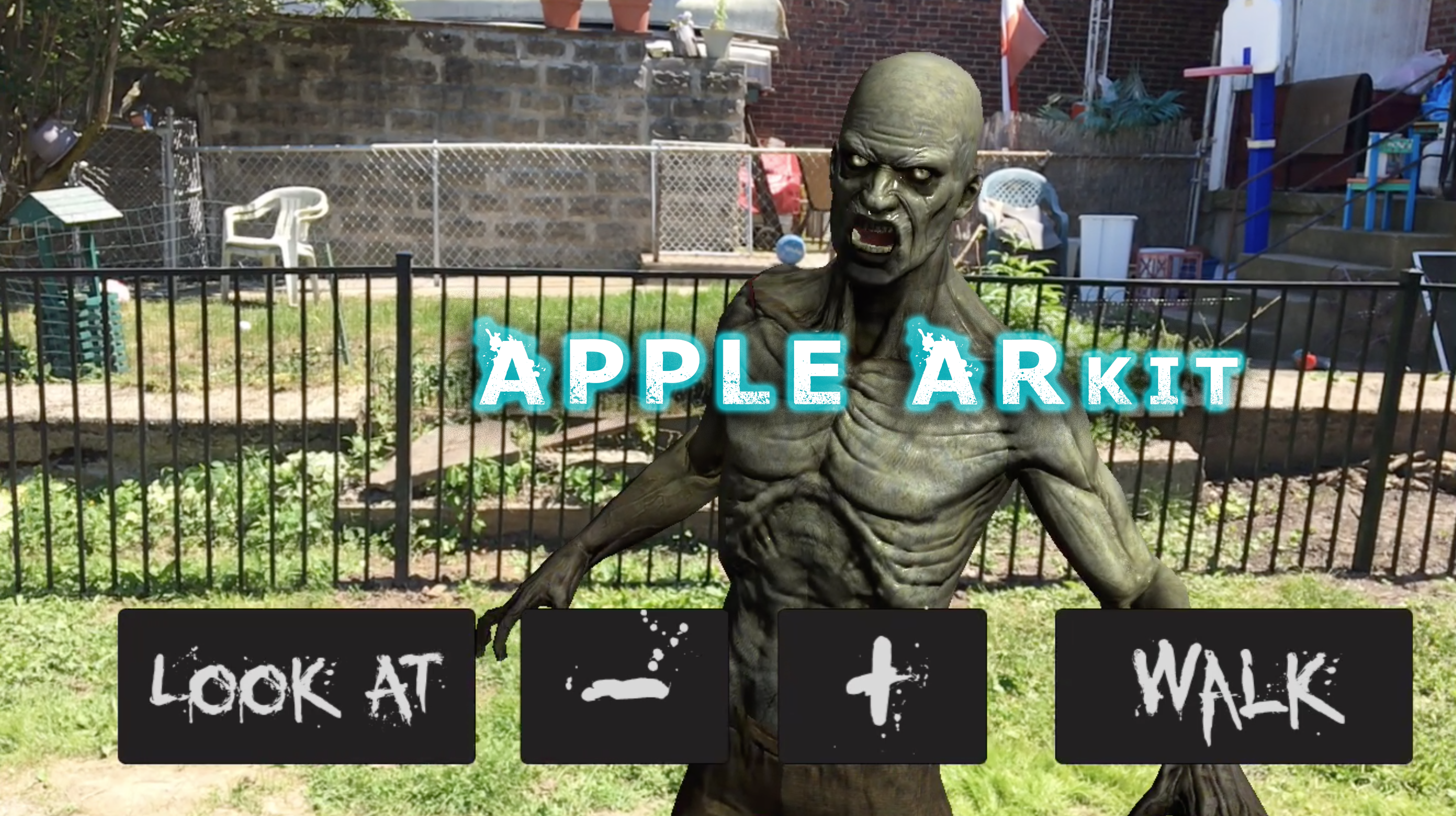 Picture of Apple ArKit Augmented Reality App