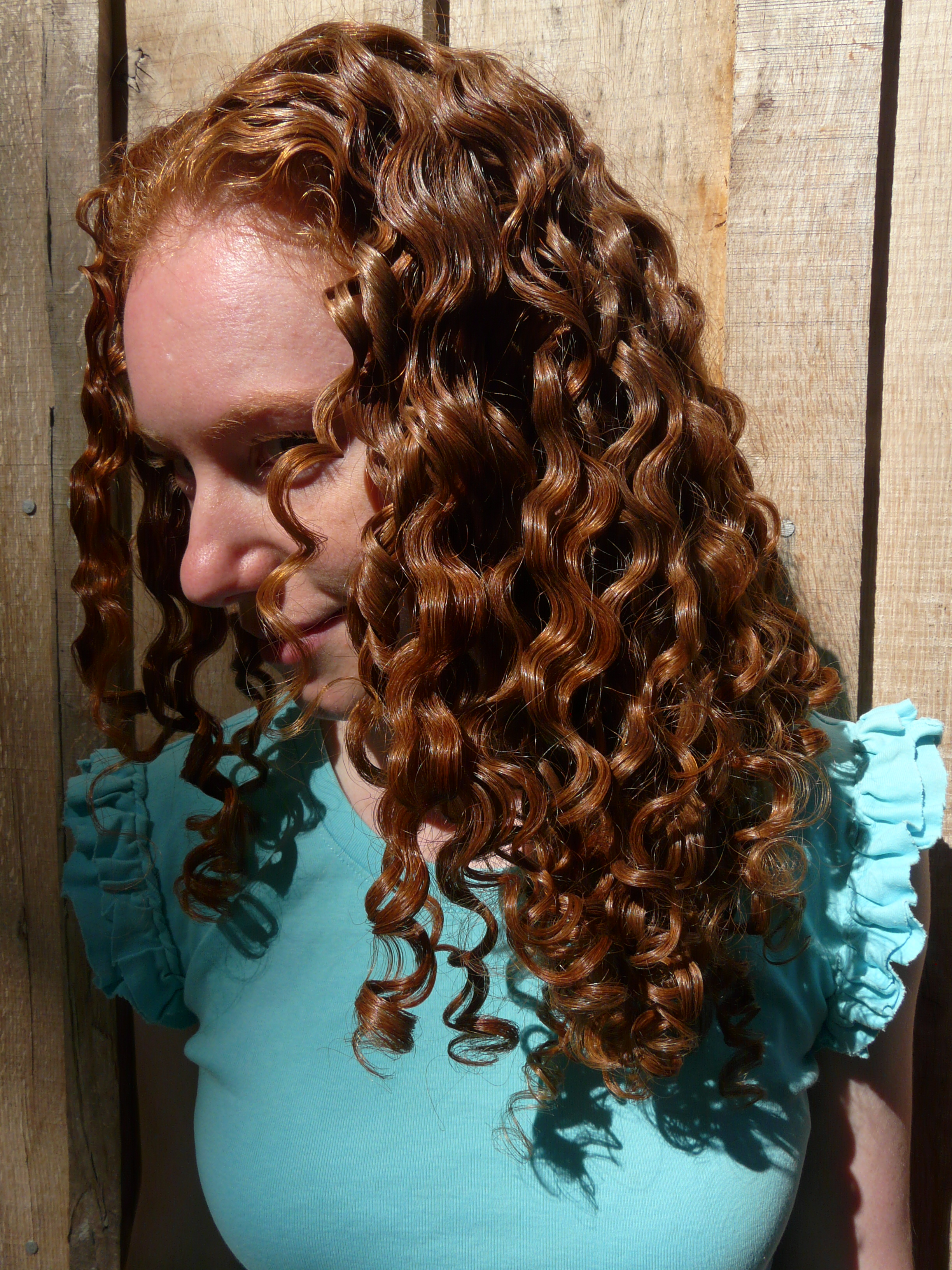 Picture of Homemade Flaxseed Hair Gel for Curly, Frizzy Hair