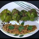 Stuffed Capsicum Recipe | Bhawan Shimla Mirch | Indian Vegetarian Recipes