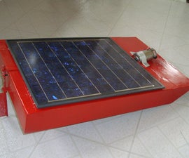 Remote Controlled SOLAR POWERED Barge