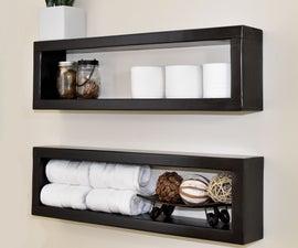 How to Make a $7 Floating Shelf