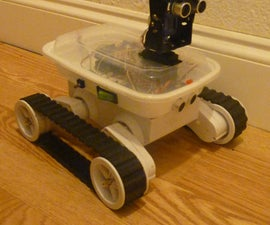 Autonomous Arduino  Rover 5