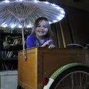 LED Parasol bike light