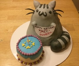 Pusheen Cat Cake